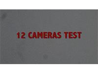 Test av 12 kameraer