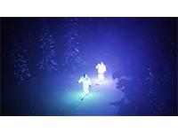 Lysende skifilm