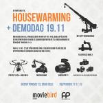 Housewarming / Demodag hos Moviebird
