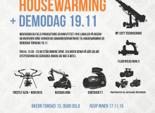 Housewarming / Demodag hos Moviebird