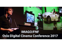 Oslo Digital Cinema Conference 2017